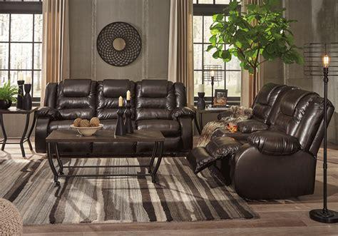 vacherie chocolate reclining sofa set louisville
