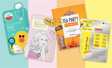 10 korean sheet masks for every yes every skin issue