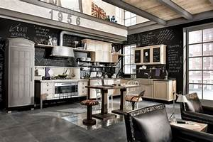 Vintage And Industrial Style Kitchens By Marchi Cucine  U2013 Adorable Home