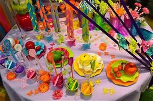 Deco Multicolore : deco exotique anniversaire ~ Nature-et-papiers.com Idées de Décoration