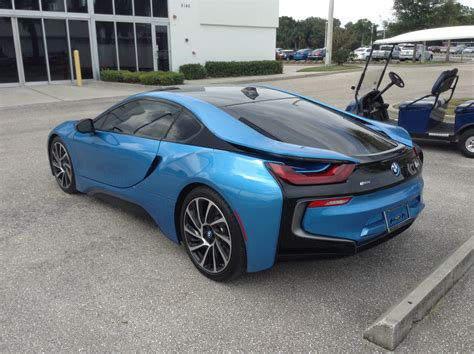 Next Bmw I8 Reported To Get Range & Power Boost