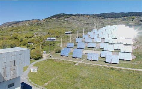 le de bureau solaire au laboratoire promes la saga du solaire à concentration