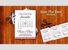 Save the Date Casamento Faça você mesma Artenharia