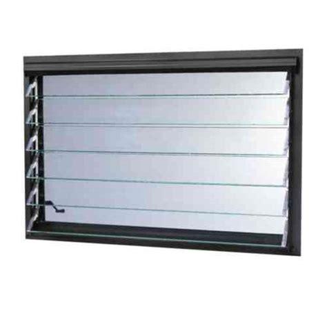 tafco windows      jalousie utility louver awning aluminum window  bronze