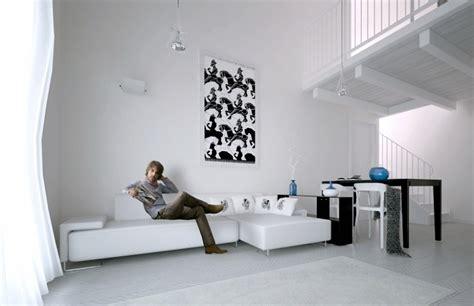 color blanco  muebles  paredes en el salon