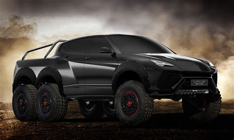 Lamborghini Urus 6x6 Looks Like Its Straight Out Of 'mad Max