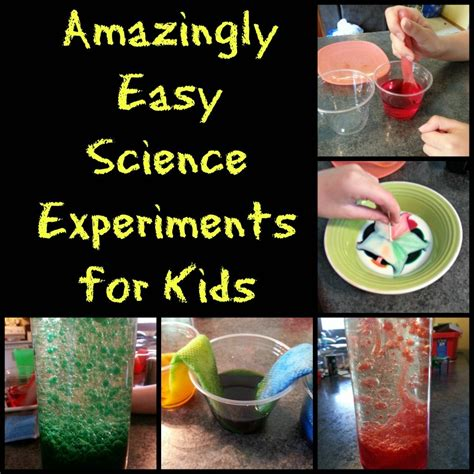 amazingly easy science experiments  kids hubpages
