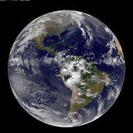 Satellite View Earth