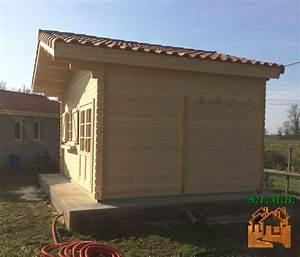 Chalet Habitable Sans Permis De Construire : chalet en bois sans permis de construire laurier 20 ~ Dallasstarsshop.com Idées de Décoration
