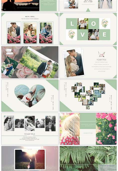awesome wedding album commemorating  template