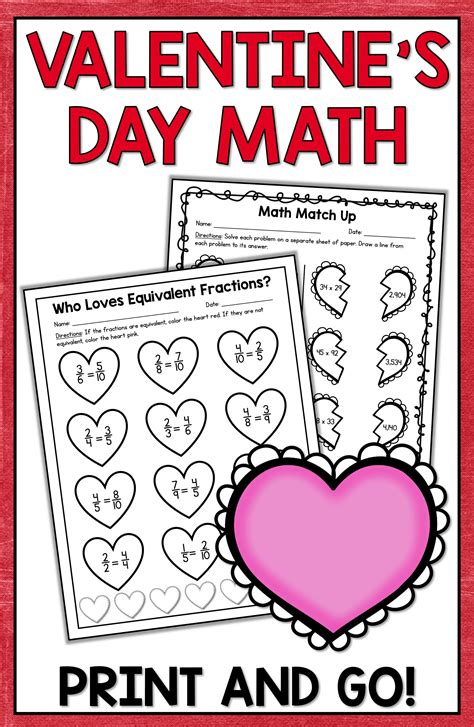 valentine s day math valentine s day activities shelly rees teaching resources valentines