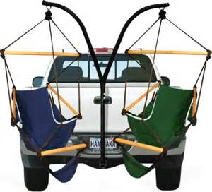 trailer hitch hammock chair by hammaka hammaka trailer hitch dual hammock chair stand