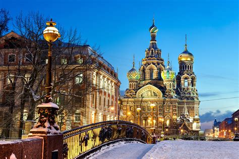 St. Petersburg, Russia: For the Wintery Ambiance
