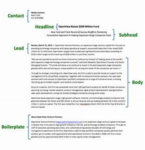kick ass content simple tips for writing a press release With how to write a good press release template