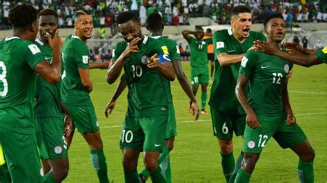 Nigeria Makes The Cut For Fifa World Cup