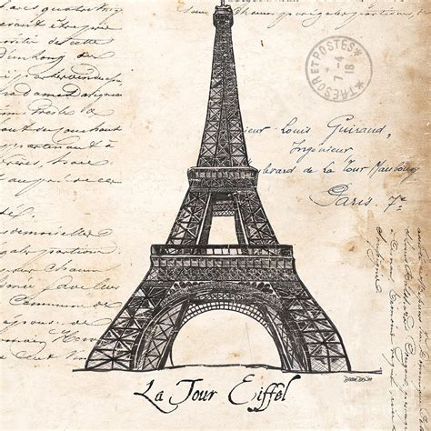 la tour eiffel painting by debbie dewitt