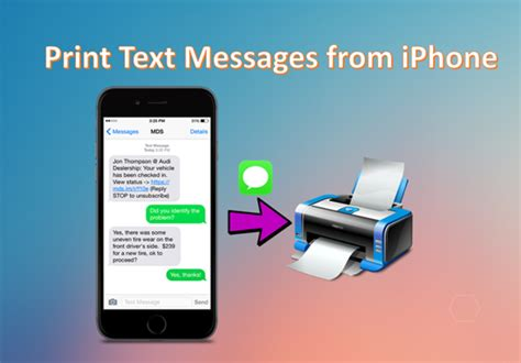 print text messages from iphone iphone data recovery