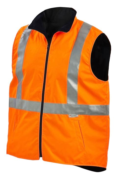 WORKIT HiVis 2 Tone Reversible Vest with Reflective Tape (7501)