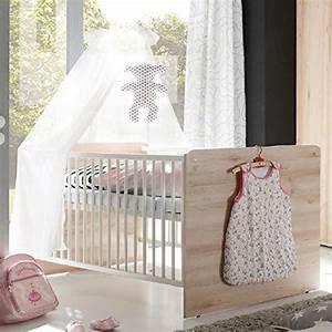 Babybett Sonoma Eiche Umbaubar : babyzimmer kinderzimmer komplett set elisa 1 in eiche sonoma wei komplettset mit ~ Indierocktalk.com Haus und Dekorationen