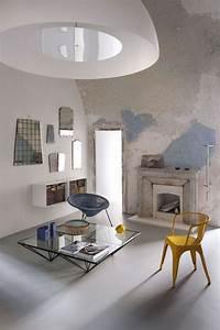 Deco Pour Salon : d co salon avec sol gris ~ Teatrodelosmanantiales.com Idées de Décoration