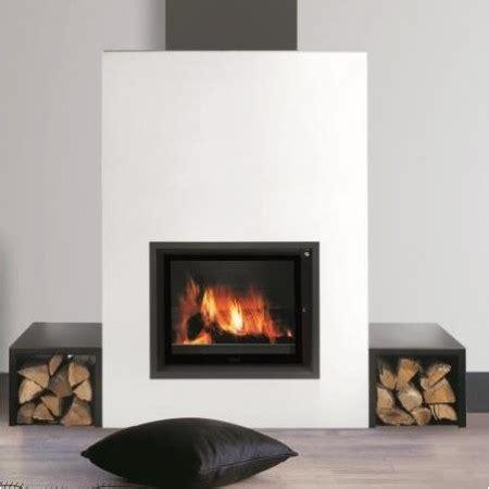 cheminee moderne a bois