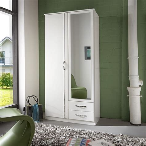 wardrobe mirrors for sale candice mirror wardrobe in alpine white chrome with 2 doors wardrobes for sale