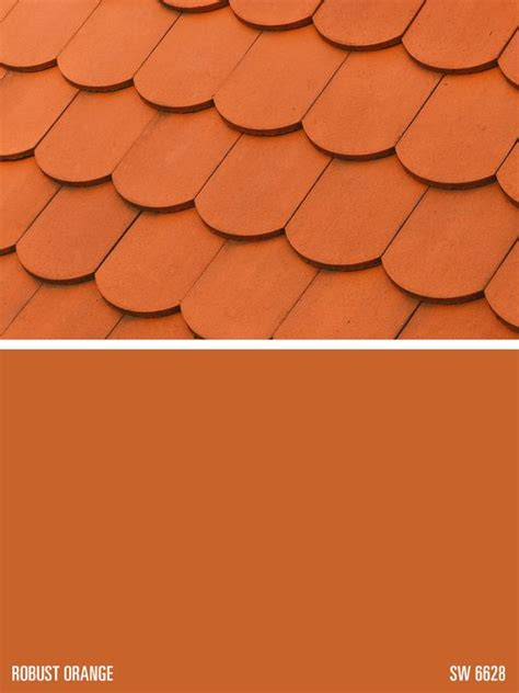 robust orange paint color sherwin williams paint color robust orange sw 6628