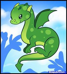 How to Draw a Dragon for Kids, Step by Step, Dragons For ...