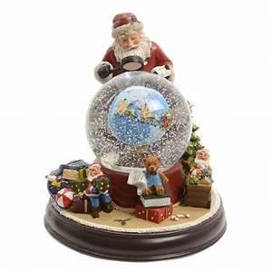 Boule De Neige Noel : boule neige lumineuse musicale p re no l village de ~ Zukunftsfamilie.com Idées de Décoration