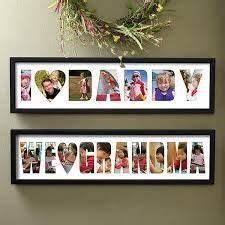 photo gifts cut letters out of plain white paper and With cut out letter picture frames