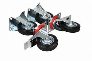 Lenkrollen Mit Bremse : transportrollen rollen gummi bockrollen lenkrollen mit bremse 4er set 100 mm ebay ~ Eleganceandgraceweddings.com Haus und Dekorationen