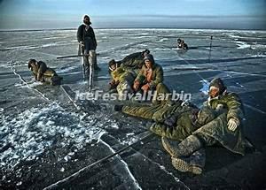 Chagan Lake - Chagan Lake Winter Fishing, China