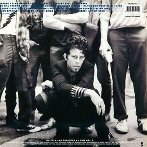 september 30 tom waits rain dogs was released in 1985