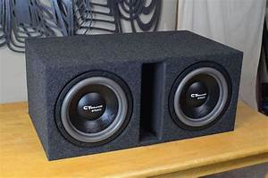 Dual 12 Inch PORTED Subwoofer Box Design – CT SOUNDS