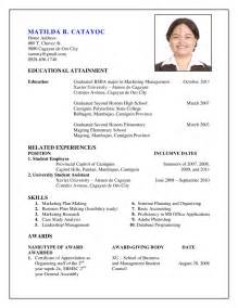 create an resume free create curriculum vitae