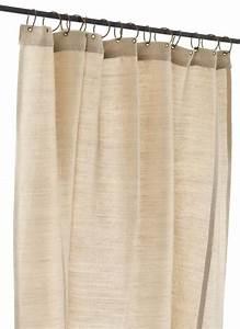 Rideau Toile De Jute : jute rideau en toile ecru ~ Farleysfitness.com Idées de Décoration