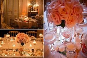 Deco Mariage Romantique : romantique wedding reception decorations de wedding planners un mariage romantique et ~ Nature-et-papiers.com Idées de Décoration