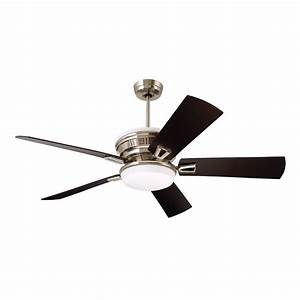 Contemporary energy star bronze ceiling fan emerson