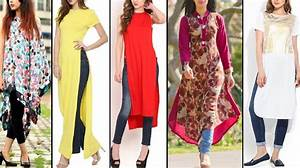 Designs Kurti with Jeans Fashion for womenu0026#39;s | Modrenstyles