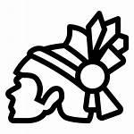 Aztec Clip Clipart Transparent Indian American Indians