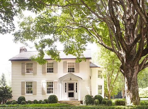 Charming Connecticut Home by A Charming Connecticut Farmhouse By Gil Schafer T