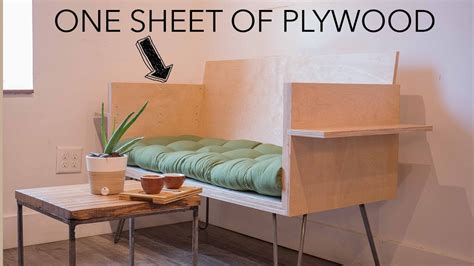 How To With 1 Sheet Of Plywood