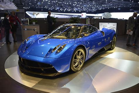 Pagani Huayra Options List Shows That Nothing About This