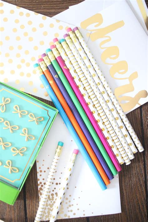 really cool desk accessories deal alert kate spade inspired office supplies shining