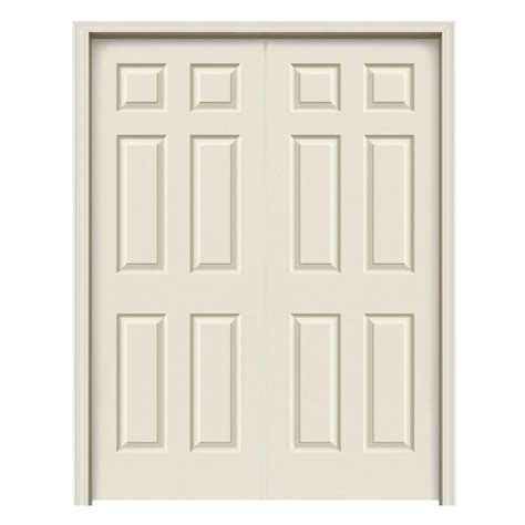 jeld wen colonist primed  panel hollow core molded
