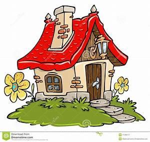 Little People Wohnhaus : cartoon cottage royalty free stock photography image ~ Lizthompson.info Haus und Dekorationen