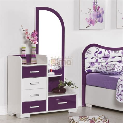 commode chambre fille commode miroir 5 tiroirs fille vision 5 tiroirs coloris