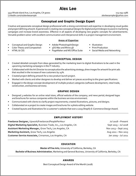 Functional Resume Tips and Template