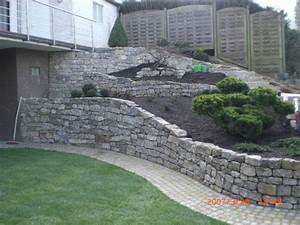 epingle par doris schleicher sur ideen rund ums haus With awesome jardin en pente amenagement 4 mur gabion dans le jardin moderne un joli element fonctionnel