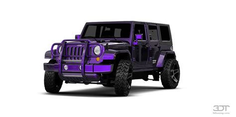 neon purple jeep 3dtuning of jeep wrangler unlimited suv 2108 3dtuning com